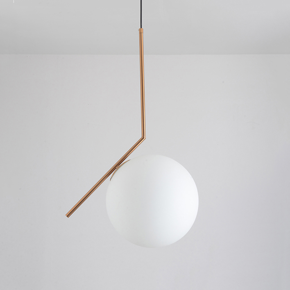 Modern minimalist art deco pendant lights ball glass shade globe modern minimalist art deco pendant lights ball glass shade globe led hanging lamp for living room bar home light fixtures gold in pendant lights from lights arubaitofo Choice Image