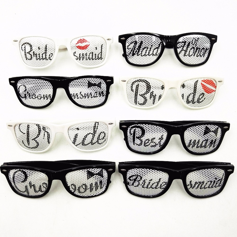 Bride & Groom Sunglasses For Wedding Night Party Glasses Favors ...