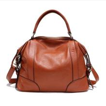 100% genuine leather bag Spring women leather handbag 2015 new bolsas hot crossbody bag cowhide women messenger bag shoulder bag