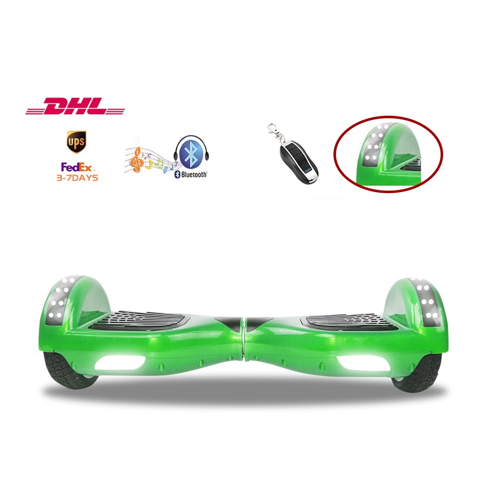 Self balancing font b Hoverboards b font Electroplate Style 6 5 inches Solid Tire with Reliable