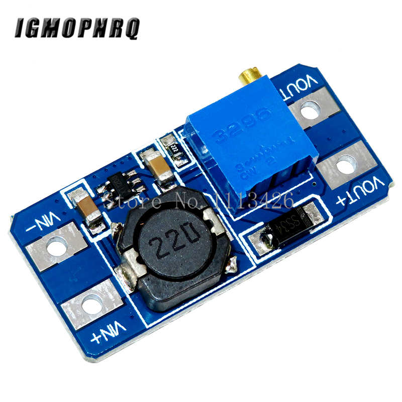 5Pcs MT3608 DC-DC Step Up Converter Booster Voedingsmodule Boost Step-Up Board Max Output 28V 2A
