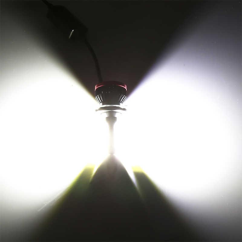Car headlight bulbs H7 led H4 9005 9006 H3 HB3 HB4 H1 20000LM 6500K 12V white fog lights 2PCS High COB Chips IP67