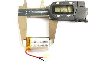 Image 3 - (10 أجزاء/وحدة) 3.7 V 602035 400 mah ليثيوم أيون بوليمر البطارية جودة السلع نوعية CE FCC بنفايات شهادة سلطة