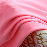Wholesale 1Meter Width 160cm Colour Knitted Stretch Spandex Weft Fabric For Dress Skirt Pajamas Underwear DIY