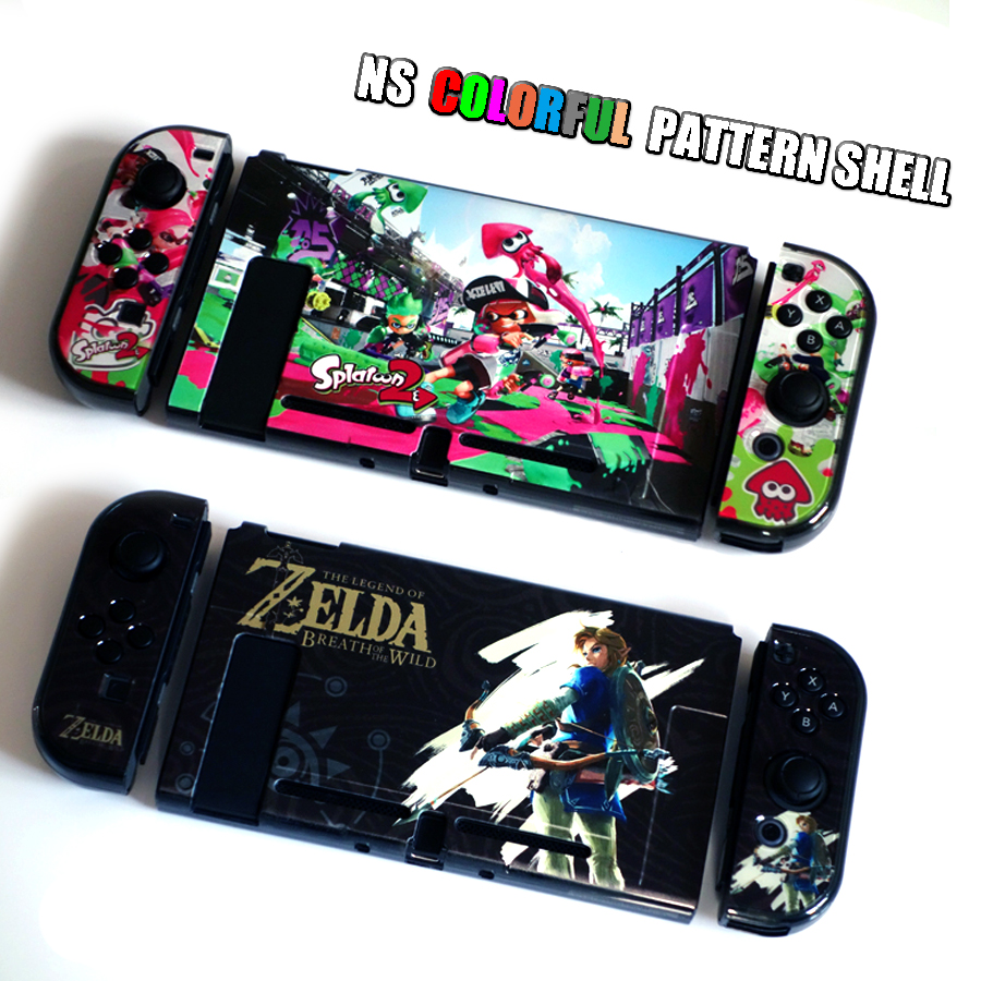 Nintend Switch NS Pattern Case Nintendos Switch Protective Hard Cover Shell Skin for Nintendo Switch Console 2