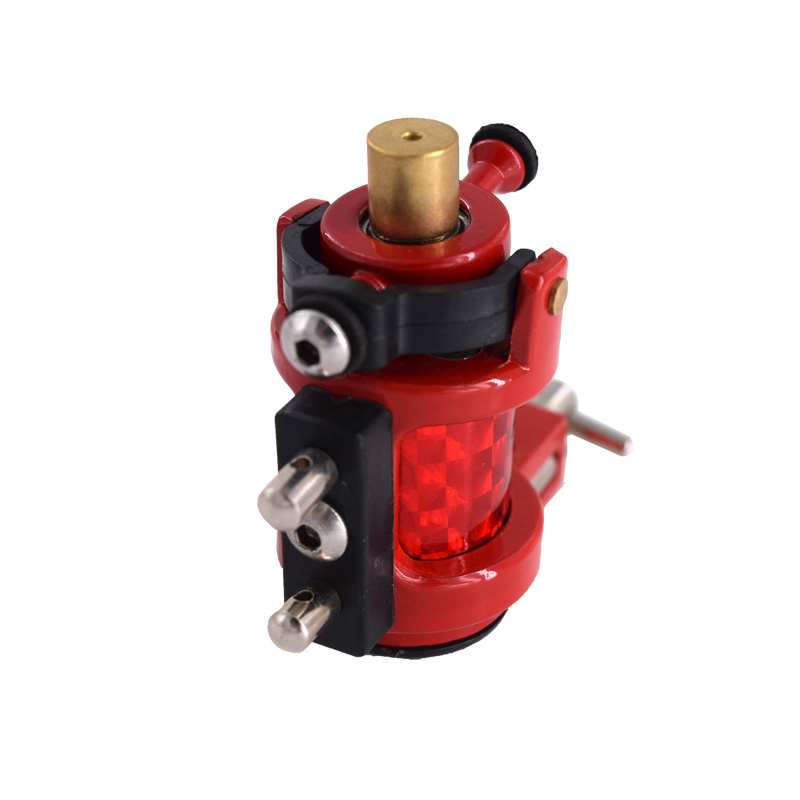 Tattoo Gun Professional Rotary Tattoo Machine Tattoo Gun Red Color For Shader And Liner Tattoo Supply Free Shipping