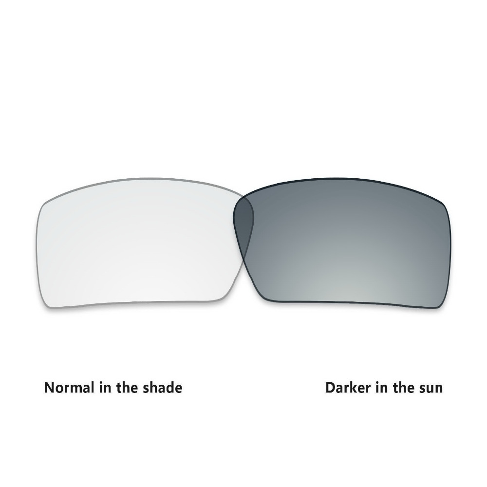 b2f706a4e3 ToughAsNails Replacement Lenses for Oakley Eyepatch 2 Sunglasses  Photochromic Clear Color (Lens Only)-in Accessories from Apparel  Accessories on ...