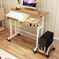 Simples Notebook Mesa Do Computador Mesa de Escritório Em Casa Tipo de Tipo Simples Pode Se Mover de Ajuste de Elevação Mesa Aprendizagem