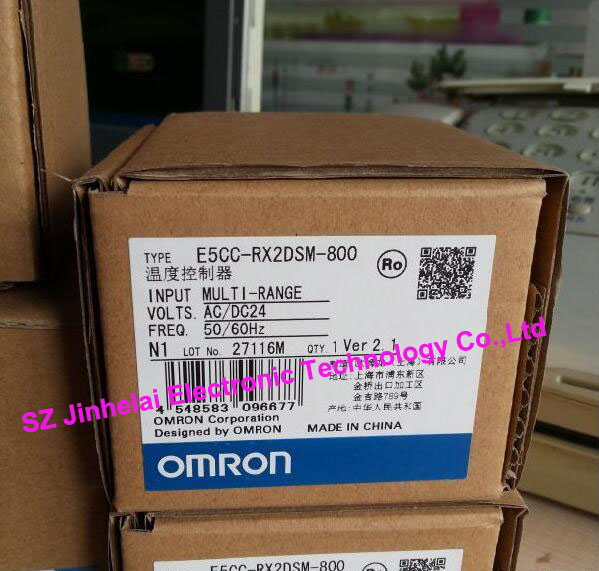 Authentic original E5CC-RX2DSM-800 OMRON Digital Controller AC/DC24