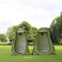 1 2Persons Portable Privacy Shower Toilet Camping Pop Up Tent Camouflage/UV Function Outdoor Dressing Tent/Photography Tent