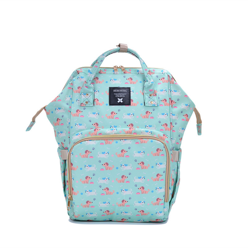 Baby Diaper Bags For Mom Backpack Maternity Bags For Mother Bag Printed Baby Stroller Organizer Diaper Backpack Large Nappy Bag
