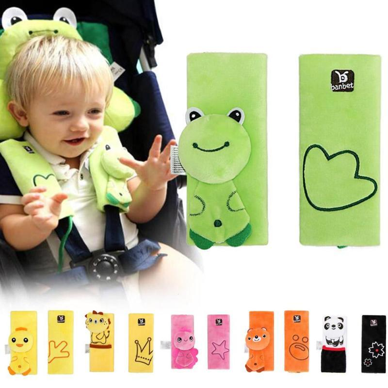 Baby Car Seat Safety Belt Strap Cover Pa