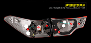Image 2 - Highlander lanterna traseira, 2015 led 2018 led, rav4, innova, highlander luz traseira; acessórios do carro, highlander luz de nevoeiro
