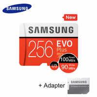 Samsung micro cartão de memória 32 gb 64 gb 128 gb 256 gb tf cartão c10 100 mb/s sdxc UHS-1 dispositivo de armazenamento cartões de telefone