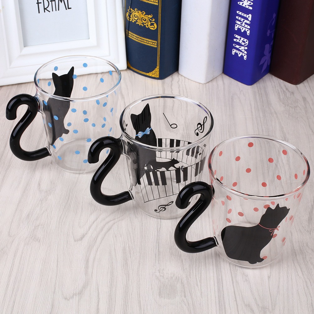 Creative Cat Designed Cups