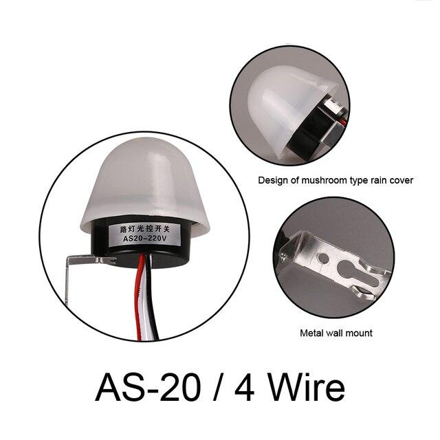 AS 20 Hot Grade Licht schakelaar sensor lamp controller automatische ...