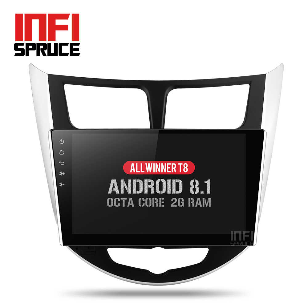 IPS Octa core Android car dvd for Hyundai Solaris accent Verna i25 with gps navigation radio video car stereo multimedia player