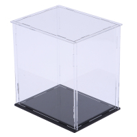 MagiDeal Diecast Toy Vehicle Parts Display Case Box Acrylic Showcase Perspex Dustproof for Mini Dolls
