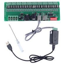 30 канал легкий DMX rgb из светодиодов ленты контроллер dmx512 декодер controlador DMX диммер 12 В консоли USB контроллер DMX