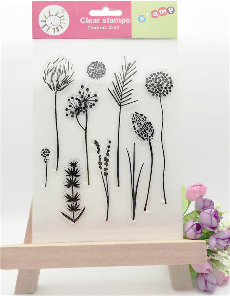 scrapbook DIY paper card About dandelion clear STAMPS FOR PHOTO scrapbooking stamp for christmas wedding gift CL-056