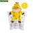 LittleSpring bebé baño del bebé toalla con capucha toallas de algodón estampado animal kids abrigo de baño de baño de los niños de desgaste