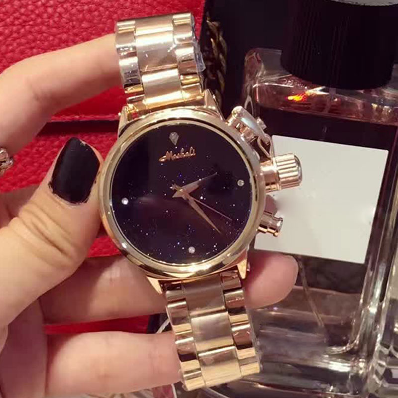 Top Luxury Brand Bracelet Watches Women Rose Gold Quartz Watch For Women Rhinestone Stainless Steel Wristwatches female relojes jinen women new top quality brand watches japan quartz waterproof rose gold stainless steel watch business luxury female clock