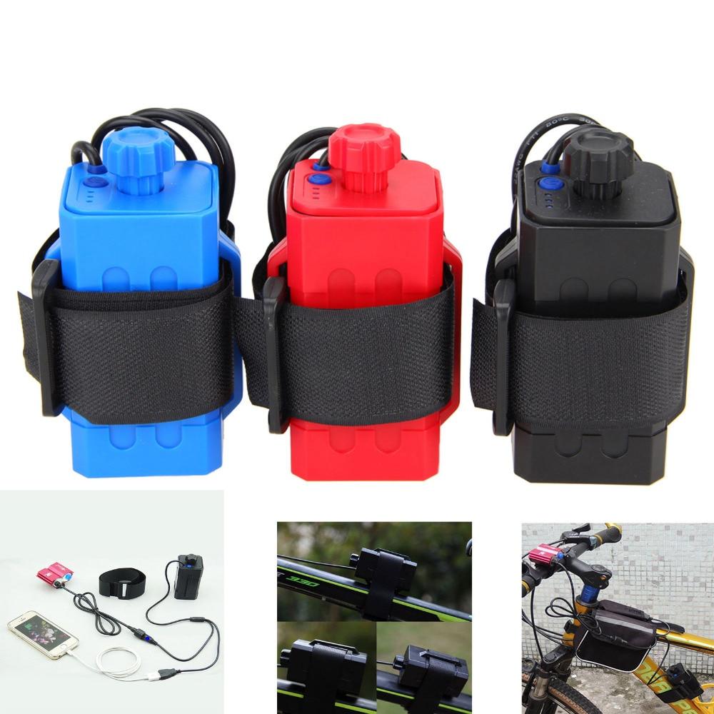 Power Battery Storage Case Box Waterproof 4x 18650 case Holder For Bike LED Light Newly(no battery)