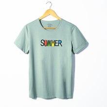 Летние мужские футболки с коротким рукавом для отдыха