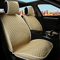 Bege da menina bonito frente dois assentos tampa de assento do carro universal banco traseiro do carro capas para kia k2 para mazda cx 5 cape em um assento de carro