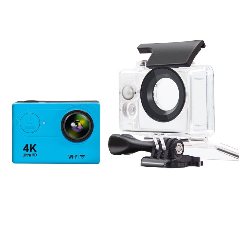 Sport Action Camera H9R Ultra HD 4k WiFi 1080P 2.0 LIVE 170D Sport Camera Waterproof Action Sport Camera with Waterproof Case f88 action camera black