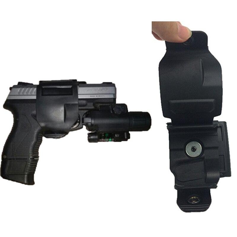 Láser rojo DOT táctica 4000LM Luz LED Verde Luz de Montaje 25mm Rifle Linterna