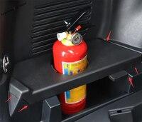 Yimaautotrims Plastic Fire Extinguisher Cup Holder Case Interior Mouldings Cover Trim 1 Pcs For TOYOTA RAV4 RAV 4 2014 2018