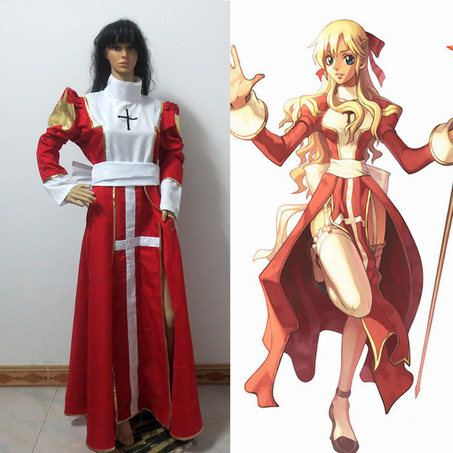 Ragnarok Online Angel Pastor Cosplay Costume In Anime Costumes From