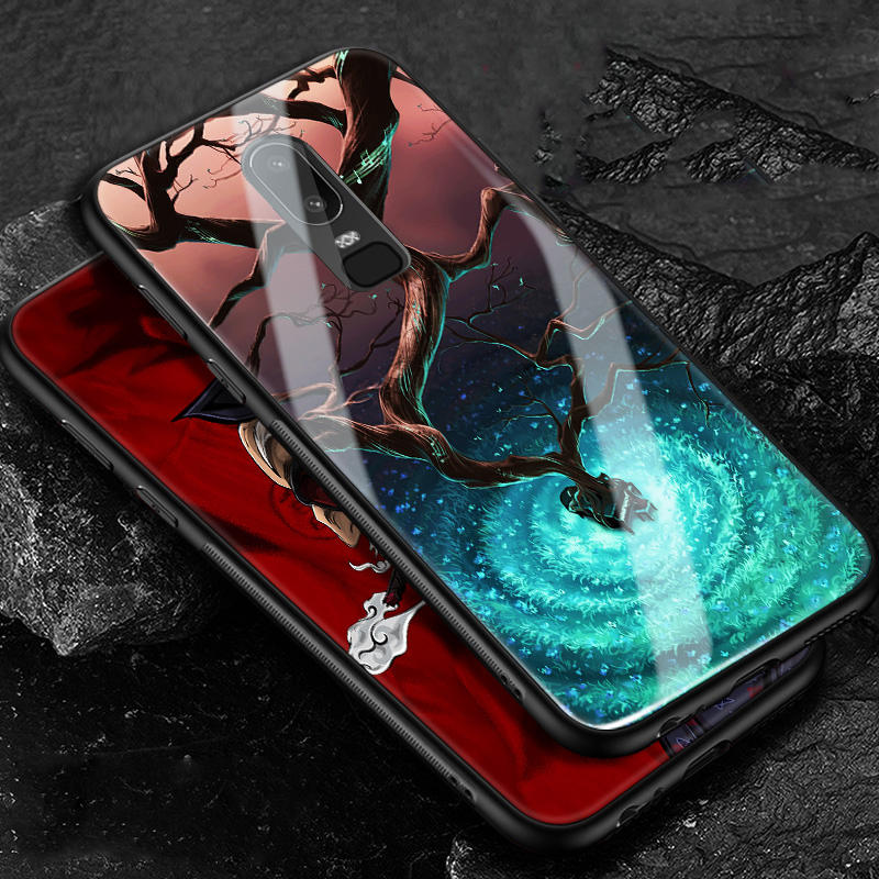 for Oneplus 6 Case Oneplus6 Case Cover 6.28 inch HD Tempered Glass Cases for One plus6 1+6 One Plus 6 Six A6000 Bumper Coque AAA