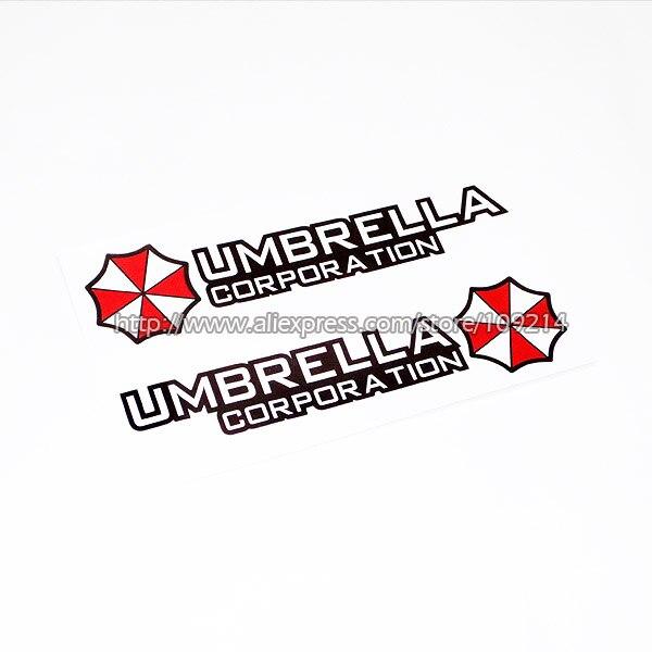 Hot sale Umbrella Corporation A Motorcycle SUV Auto Decal Sticker Waterproof M19