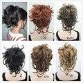 Темно-гибкие провода короткие парики крошечный косы коготь клип ponytail бесплатная доставка