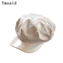 Hat Newsboy-Hats Octagonal-Cap Winter Women Retro for Autumn Snapback-Caps Leisure Female