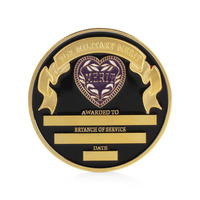 Purple Heart Military Merit Commemorative Challenge Coin Collectible Physical Gift