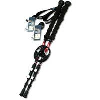 2 Pcs Lot 185g Pc Carbon Fiber External Quick Lock Trekking Pole Hike Telescope Stick Nordic