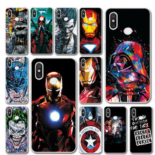 Captain America Phone Case For Xiaomi Redmi Note 7 Silicone Bumper Not