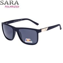 SARA Alta Qualidade Polarizada Óculos De Sol Dos Homens Pretos Legal Viajar  Óculos de Sol Mulheres Retro Nova Marca De Pesca Eye. 6bc06a0d2c