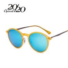 Новая мода поляризованные Солнцезащитные очки для женщин Для женщин круглый Óculos De Sol Аксессуары для одежды очки Для мужчин Защита от солнца Очки для женщин