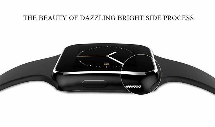 Fashion Black Sport Bluetooth Smart Watch For Android IOS Phone Call SIM Card Intelligent Watches 1.54\'\' HD LCD OGS Touch Screen (3)