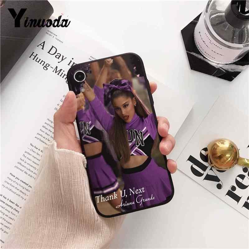 Yinuoda ขอบคุณ U, ถัดไป Ariana Grande ซิลิโคนอ่อนโทรศัพท์ TPU สำหรับ iPhone 8 7 6 6 S 6 Plus X XS MAX 5 5 S SE XR 10 กรณี