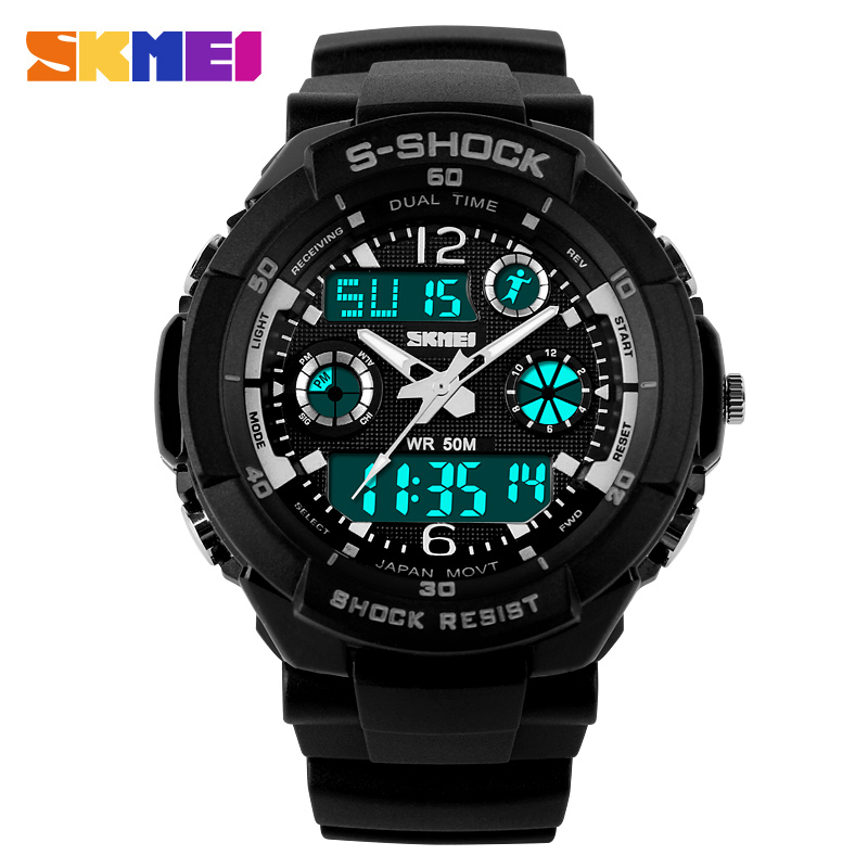SKMEI Luxury Brand font b Men b font Sports Watches Digital Led Sport Wristwatches Relogio Masculino