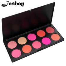 Jashay Hot 10 Colors Blusher Makeup Cosmetic Blush Powder Palette Pink Rose Peach Cora