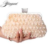 Evening Bags Women Clutch Bags Evening Clutch Bags Wedding Bridal Handbag Pearl Beaded Lace Rose Fashion