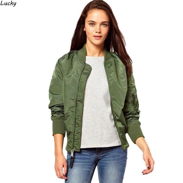Новое Прибытие Дамы Женщины Повседневная Классический Zip Байкер Куртки Бейсбол Куртка 63