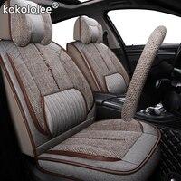 kokololee fabric car seat cover For ford focus mk1 fiesta mk7 alfa romeo giulietta chevrolet lacetti audi a3 sportback car seats