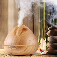 EASEHOLD 400ml Cool Mist Humidifier Ultrasonic Aroma Essential Oil Diffuser For Office Home Bedroom Living Room